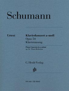 Klavierkonzert a-moll, op. 54. Klavierauszug