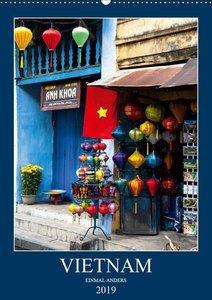 VIETNAM - EINMAL ANDERS (Wandkalender 2019 DIN A2 hoch)