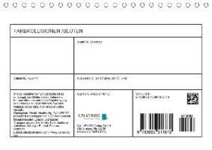 FARBKOLLISIONEN /BLÜTEN (Tischkalender 2019 DIN A5 quer)