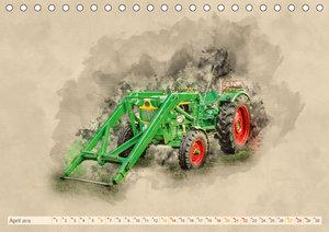 Traktoren - alte Schätze für Liebhaber (Tischkalender 2019 DIN A