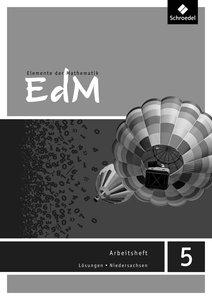 Elemente der Mathematik SI - Ausgabe 2013 für das G8 in Niedersa
