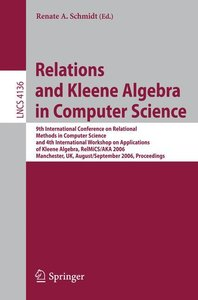 Relations and Kleene Algebra in Computer Science