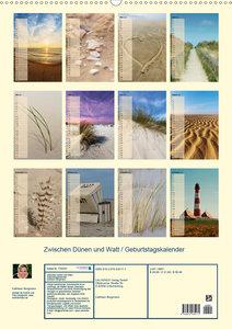 Zwischen Dünen und Watt / Geburtstagskalender