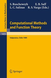 Computational Methods and Function Theory