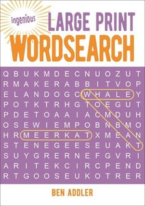 Ingenious Large Print Wordsearch