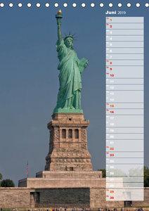 New York City Geburtstagskalender (Tischkalender 2019 DIN A5 hoc
