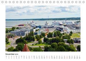 Tallinn Blick vom Domberg (Tischkalender 2018 DIN A5 quer)
