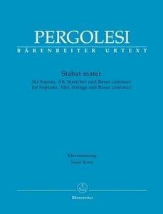 Stabat mater für Sopran, Alt, Streicher und Basso continuo, Klav