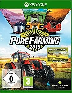 Pure Farming 2018, 1 Xbox One-Blu-ray Disc (Day One Edition)