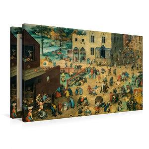 Premium Textil-Leinwand 90 cm x 60 cm quer Kinderspiele - 1560