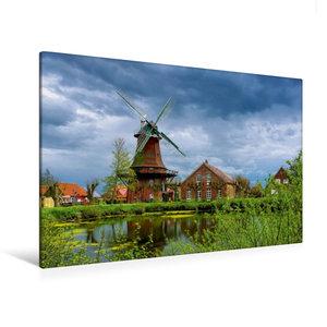 Premium Textil-Leinwand 120 cm x 80 cm quer Nessmer Mühle
