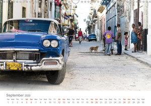 Cuban Cars (Wall Calendar 2020 DIN A3 Landscape)
