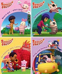 Nelson Mini-Bücher: 4er Sorgenfresser 1-4