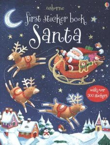 First Sticker Book: Santa