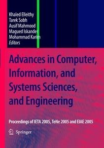 Advances in Computer, Information, and Systems Sciences, and Eng