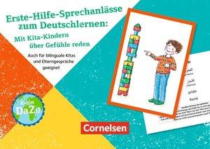 Erste Hilfe-Sprechanlässe zum Deutschlernen: Mit Kita-Kindern üb