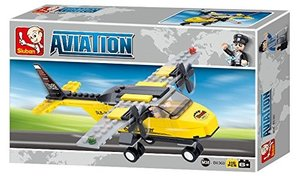 Sluban AVIATION M38-B0360 - Trainingsflugzeug, 110 Teile