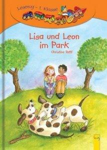 Lisa und Leon im Park