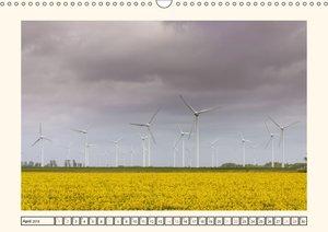 Windkraft in der Landschaft Ostfrieslands