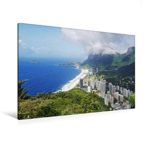 Premium Textil-Leinwand 120 cm x 80 cm quer Tolle Aussicht auf R
