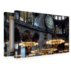 Premium Textil-Leinwand 45 cm x 30 cm quer Haggia Sophia