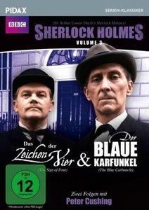 Sherlock Holmes, Vol. 3: Das Zeichen der Vier + Der blaue Karfun