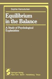 Equilibrium in the Balance