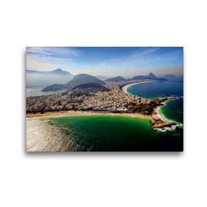 Premium Textil-Leinwand 45 cm x 30 cm quer Copacabana