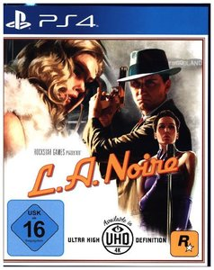 L. A. Noire, 1 PS4-Blu-ray-Disc