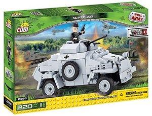 COBI 2366 - SD KFZ 222, Small Army, grau