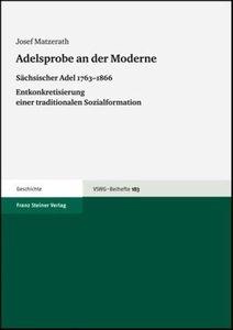 Adelsprobe an der Moderne