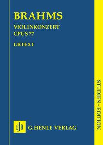Violinkonzert D-Dur op.77, Partitur