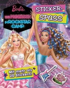 Barbie - Eine Prinzessin im Rockstar-Camp Stickerbuch