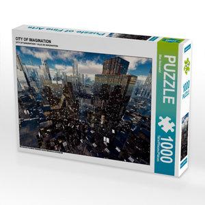 CITY OF IMAGINATION 1000 Teile Puzzle quer