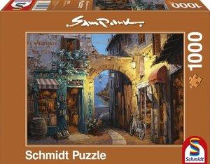 Sam Park, Gässchen am Comer See. Puzzle 1000 Teile