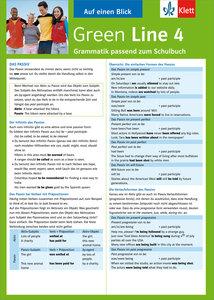 Green Line 4 Grammatik passend zum Schulbuch