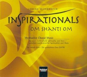 Inspirationals - om shanti om. AudioCD