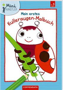 Mein erstes Kulleraugen-Malbuch: Marienkäfer