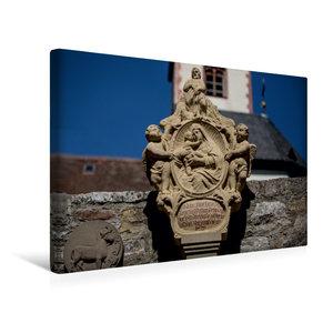 Premium Textil-Leinwand 45 cm x 30 cm quer Bildstock in Kleinoch