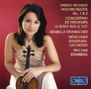 Violinkonzerte 1/2/Concertino De Printemps/+