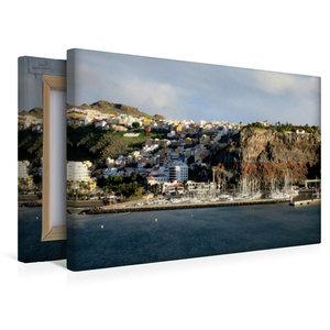 Premium Textil-Leinwand 45 cm x 30 cm quer Gomera - San Sebastia
