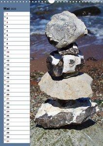 Steinmanderl - Der Steinmännchen Geburtstagskalender (Wandkalend