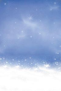 Premium Textil-Leinwand 50 cm x 75 cm hoch Schnee