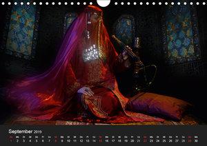 Träume aus 1001 Nacht (Wandkalender 2019 DIN A4 quer)