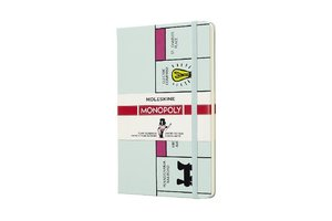 Notizbuch Monopoly Spielbrett