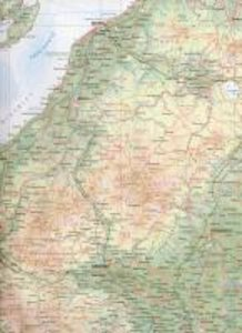 Japan North & Hokkaido Travel Map 1 : 800 000