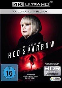 Red Sparrow 4K, 1 UHD-Blu-ray