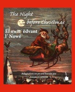 The Night before Christmas. Edition bilingue anglais picard bora