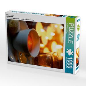 Ein Motiv aus dem Kalender Kaffeezeit 1000 Teile Puzzle hoch
