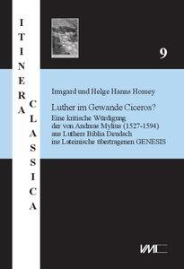 Luther im Gewande Ciceros ?